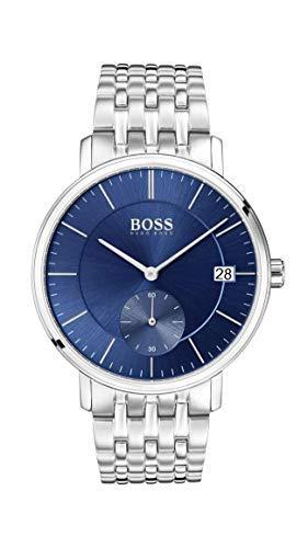 Boss 1513642 Corporal de acero inoxidable para hombre