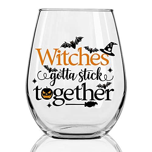 witch wine glass - 4