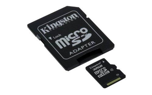 Kingston - Tarjeta microSDHC para HTC Vertex Smartphone (32 GB, formato personalizado)