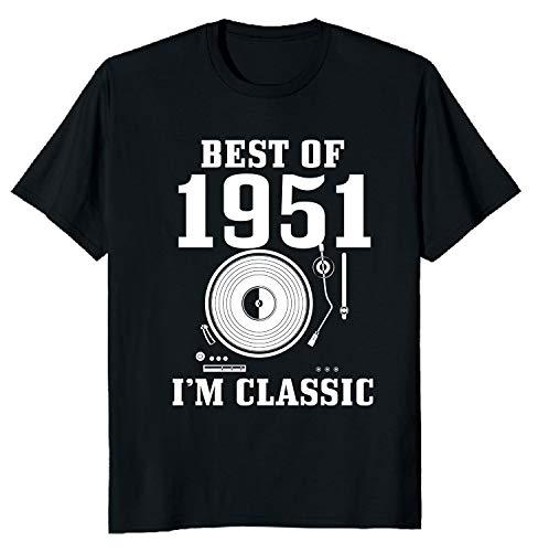 Regalo Compleanno 70 Anni 1951 Maglietta I'm Classic