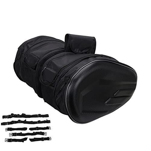 Motorradgepäck Satteltaschen Motorradtasche wasserdichte Reisetasche 36L-58L erweiterbare Kapazität für Suzuki K.T.M ya.ma.ha Langstreckenreisen