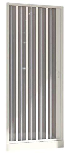Forte BK121001 Duschkabine, weiß, 110/80 x 185 h