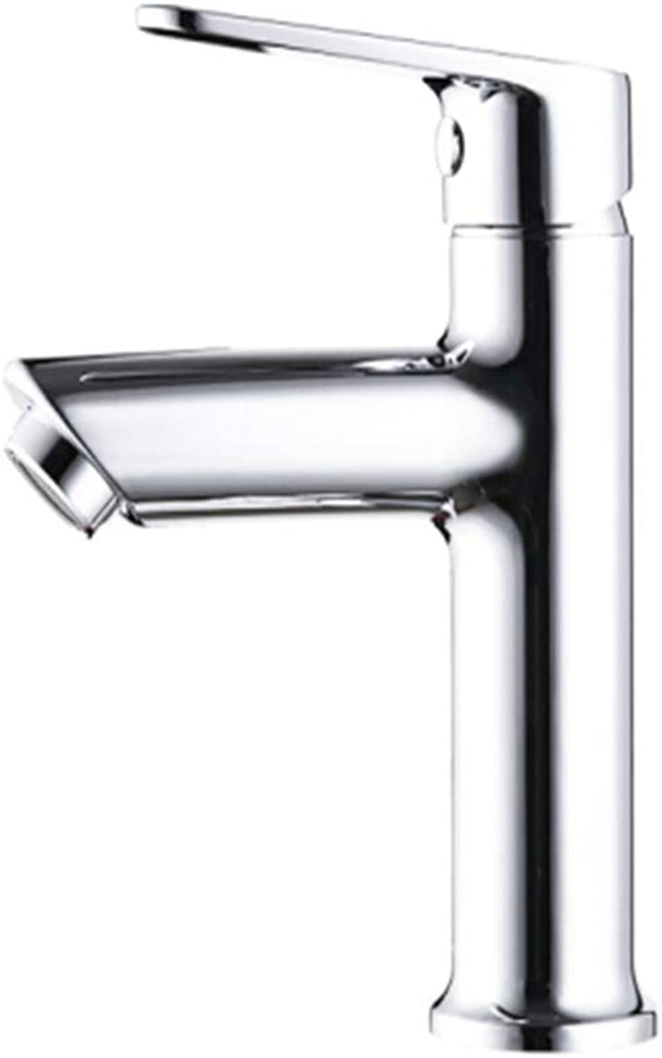 Kitchen Faucet Tapstainless Steelkitchen Faucet Probathroom Basin Cold and Hot Single Hole Hand Washing Faucet