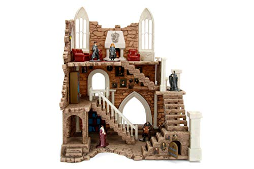 JADA TOYS - Harry Potter Torre di Grifondoro con personaggi Harry e Piton cm 4 inclusi, die cast, + 3 anni, 253185001