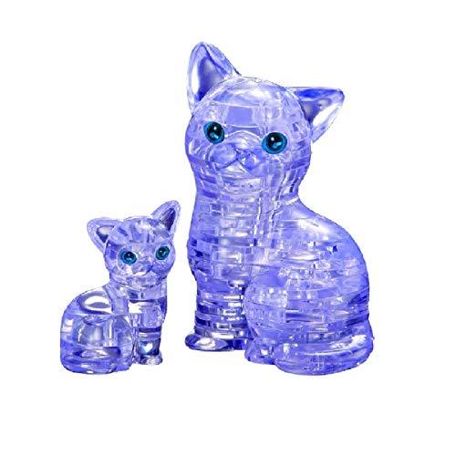 Bepuzzled Original 3D Crystal Puzzle - Cat &...