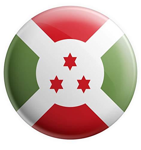 AK Giftshop Burundi-Flagge, groß, 75 mm, Geschenk, Geburtstag, Weihnachten, Nikolaus, Sammler