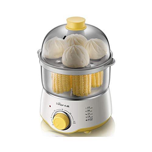 FOUWE Eierkocher, 1 Bis 16 Gekochte, Automatische Abschaltung, Signalton, BPA-frei, Testsieger, Rostfreier Stahl