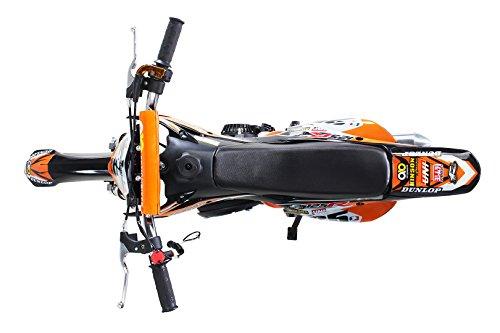 Actionbikes Gepard 49 cc Pocket Bike – Benzin (Orange) - 5