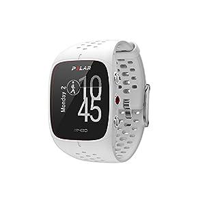 Polar M430 Reloj de Running con GPS y Frecuencia cardíaca en la muñeca - Multideporte - Actividad 24/7 - Blanco, M/L