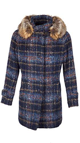 Steinbock Elmira 22280WP 60514 - Cappotto da donna, colore: Blu scuro Blu 42