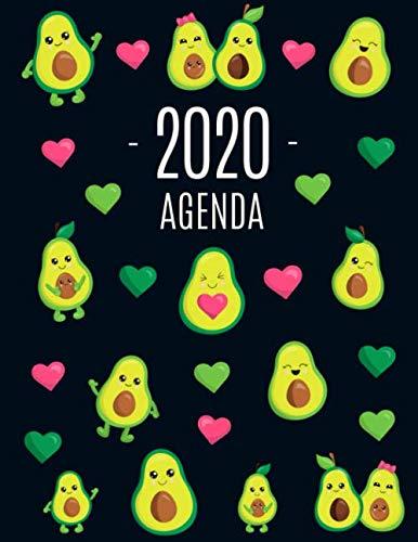 Avocado Agenda 2020: Inizia Ora e Dura Fino Dicembre 2020 | Pianificatore Settimanale 2020 (12 Mesi)