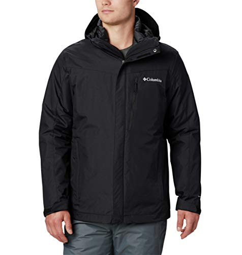 Columbia Men's Whirlibird IV Insulated Interchange Jacket, Black ,Small, standard