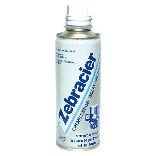 ZEBRACIER Zebracier Creme Decor Eclat Argent 200 ml