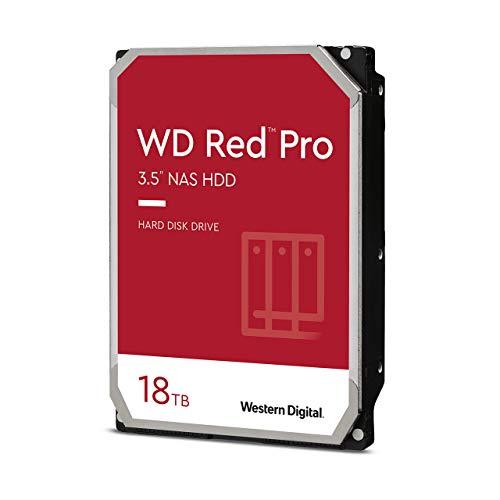 WD Red Pro WD181KFGX - 18 TB 7200 rpm 512 MB 3,5 pollici SATA 6 Gbit/s