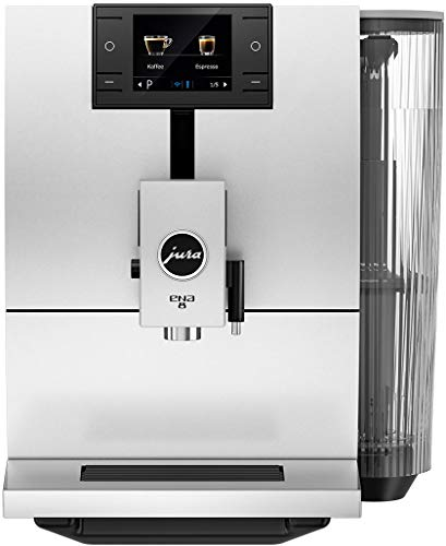 Jura 15252 Cafetera automática, Stainless Steel, Blanco