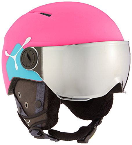 Cébé Skihelm Fireball Junior Pink Cat 3, 50-54 cm, CBH211