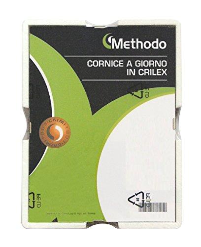 Methodo K900109 Cornice a Giorno in Crilex