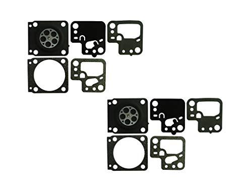 Carburateur Pakking en Diafragma Kit Vervangt ZAMA GND-146 Voor ZAMA carburateur C1T-S195 Stihl HS46 HS56 heggenschaar (Pack van 2)