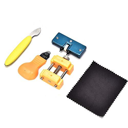 Antióxido con el Paquete Kit de Herramientas de reparación de Relojes Kit de reparación de Correas de Reloj 5 Piezas del Kit de Herramientas con Diferentes Funciones para Fabricantes de