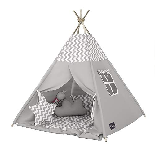 Elfique New Tipi INDIANERZELT SPIELZELT DOPPELT gevoerde deken (tent met deken)