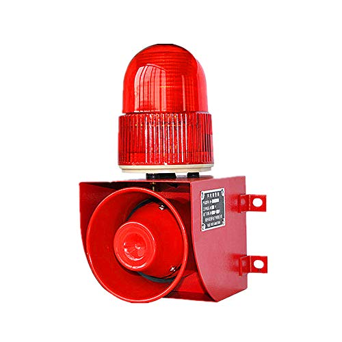 Buy Cheap Industrial Alarm Siren LED Warning Light Security Fire Alarm Siren Flashing Strobe Light 1...