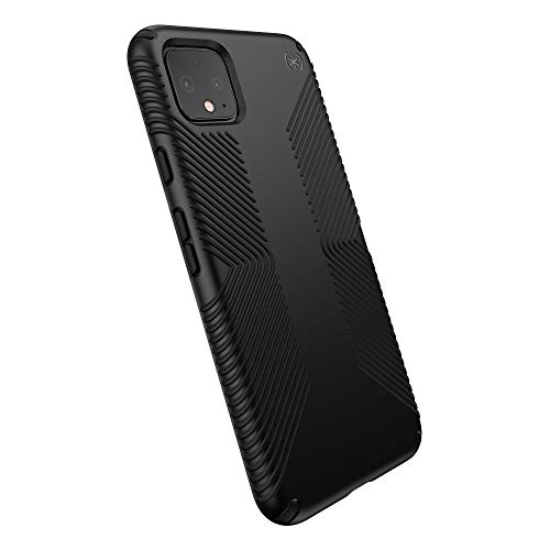 Speck Presidio Grip Google Pixel 4 XL Case, Black/Black (131862-1050)