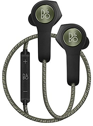 B&O Play ワイヤレスイヤホン Beoplay H5 Bluetooth apt-X AAC 対応 リモコン・マイク付き 通話可能 モスグリーン(Moss green) Beoplay H5 Moss green by Bang & Olufsen(バングアンドオルフセン) 【国内正規品】