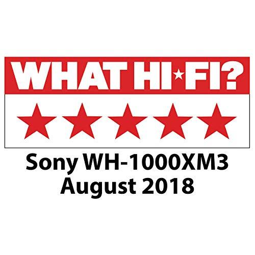 Sony WH-1000XM3 Bluetooth Noise Cancelling Kopfhörer (30h Akku, Touch Sensor, Headphones Connect App, Schnellladefunktion, Amazon Alexa) schwarz