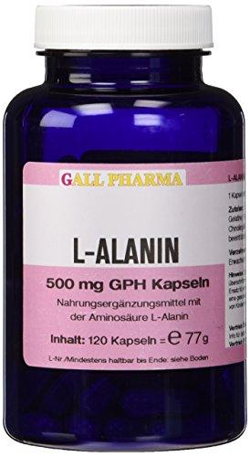 Gall Pharma L-Alanin 500 mg GPH Kapseln, 120 Kapseln