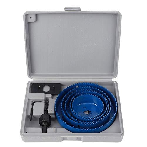 Localizador de perforaciones, 9 piezas de herramientas de manga guía de perforación de diseño curvo, placa de yeso para tuberías de PVC