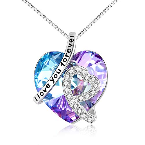 I Love You Forever Daughter Necklace