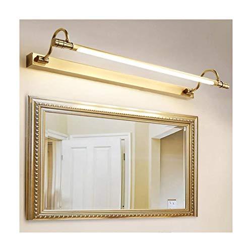 Simple Creativo Lujo Moda 69 CM Espejo Luz Frontal Hotel Sala De Estudio Tocador Dormitorio Mesita De Noche Baño Lavabo Iluminación LED Lámpara De Pared LIJQD (Color : Neutral Light)