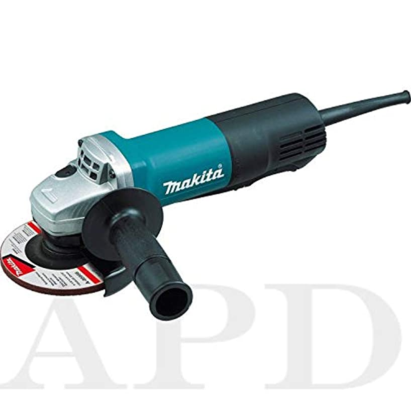 1-PK Makita 4-1/2 in Angle Grinder 7.5 Amp 10,000 RPM 5/8-11 // 301-9557PB