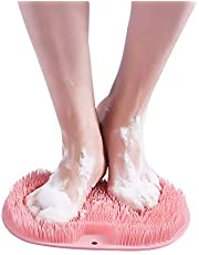 hower Foot Massager Scrubber & Cleaner - Improves Foot Circulation & Reduces Foot Pain - Soothes Tired Achy Feet - Non Slip with Suction Cups
