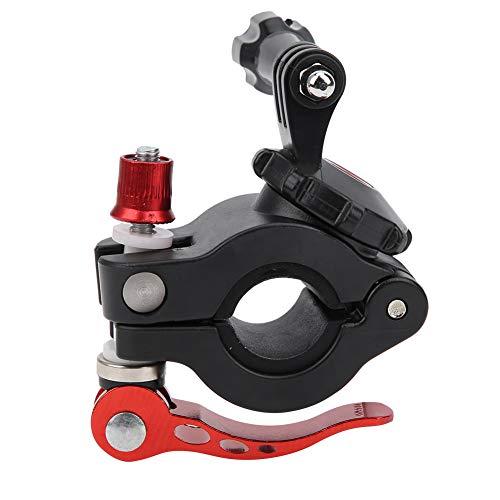 Clip per Bicicletta per Fotocamera, Morsetto Universale per Bicicletta da Montagna per Fotocamera Morsetti per Supporti per Fotocamera Regolabili a 360 Gradi per Insta360 One R/per Osmo Action/per Osm