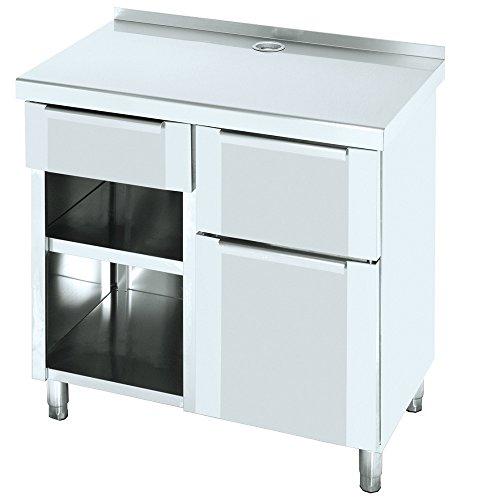Macfrin 1209 Mueble de 100X60 Cafetero Trasbarra