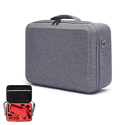 ALEOHALTER Estabilizador de mano impermeable, funda de almacenamiento rígida con correa para el hombro, bolsa de protección para Weebill 2 (gris y rojo)