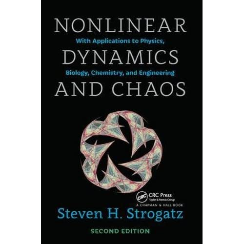 Nonlinear Dynamics And Chaos With Applications To Physics Biology Chemistry And Engineering Second Edition Studies In Nonlinearity Strogatz Steven H 9780813349107 Amazon Com Books