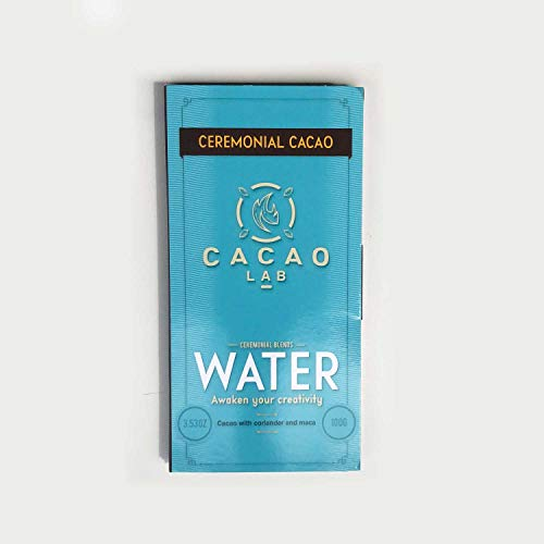 Cacao Lab - Ceremonial Grade Theobroma Cacao - Cacao paste for ritual and ceremony (water, 3.53)