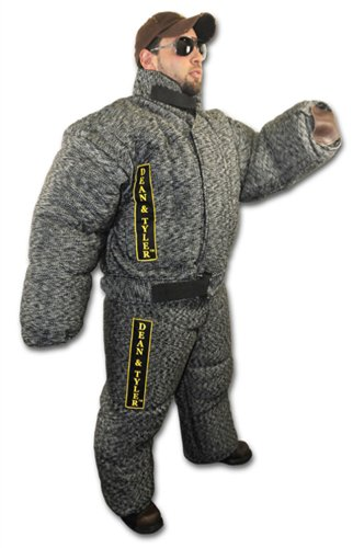 Dean and Tyler Bite Suit, French Linen - Black/White - Size: Large (H: 5.6 to 5.10-Feet, W: 165 to 176-Pounds)