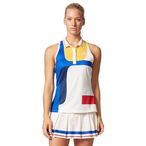 adidas NY C/B Camiseta de Tenis, Mujer, Multicolor (Blatiz), XL