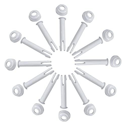 Joint Pins & Seals(12 piezas), piezas de repuesto para piscinas Intex Round Metal Frame Parts, marco de metal, Joint Pins, Rectangular, Round Pool, Intexpool Replacement Spare part (5.5)