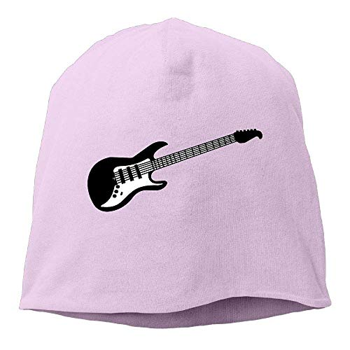 Preisvergleich Produktbild Unisex Fit Knit Cap,  Rock Music Guitar Clipart Skull Cap Mens & Womens