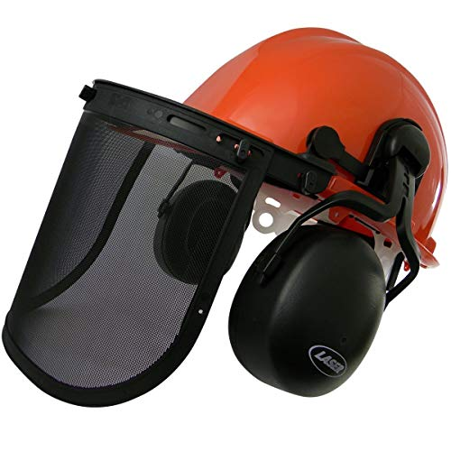 Laser Chainsaw Safety Helmet-Boxed