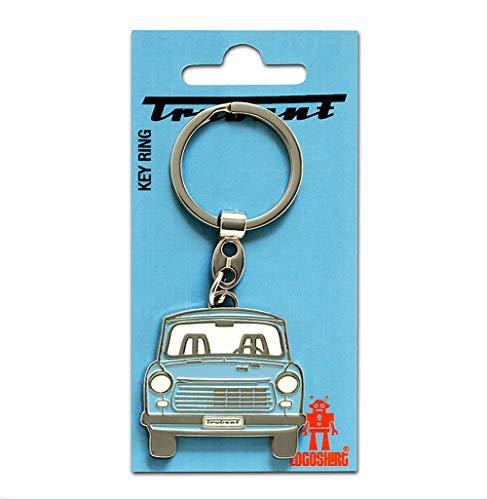 Logoshirt DDR - Auto - Trabi - Trabant 601 Schlüsselanhänger - Key-Ring - farbig - Lizenziertes Originaldesign