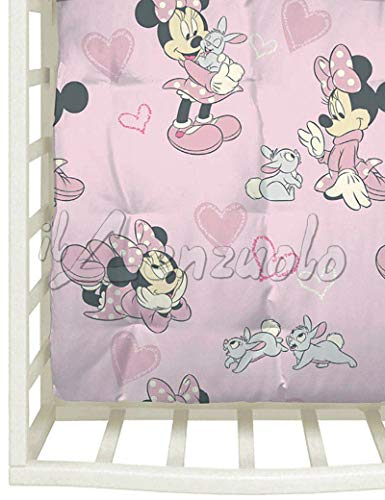 Trapunta Disney invernale per lettino baby MINNIE AMICI by Caleffi