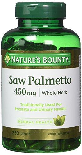 Nature's Bounty Saw Palmetto 450 mg Capsules 250 ea