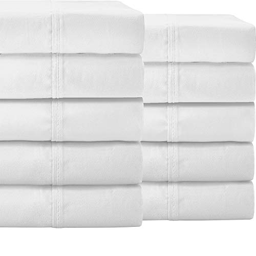 %13 OFF! Bare Home Bulk Sheet Set 10 Pack Queen – Premium Ultra-Soft 1800 Double Brushed Microfibe...