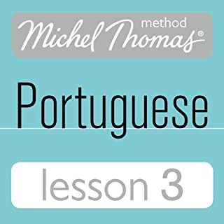 Michel Thomas Beginner Portuguese, Lesson 3 audiobook cover art