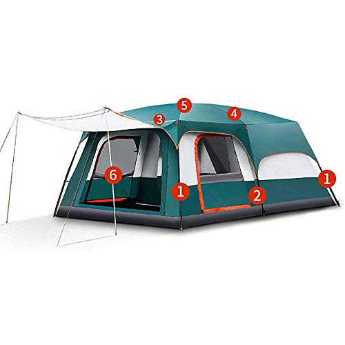 REWD Tienda de campaña portátil, 8 Persona acampa